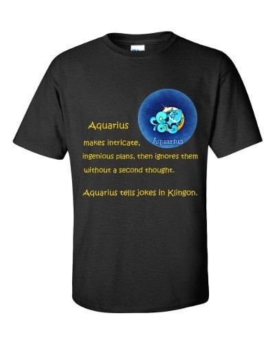 Aquarius T-Shirt (black)