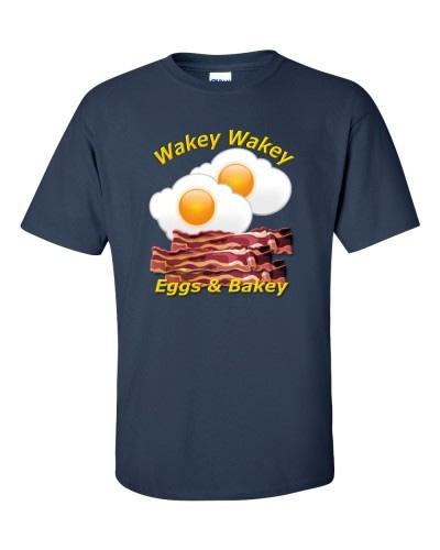 Wakey Wakey Eggs & Bakey (Navy)