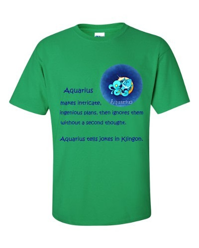 Aquarius T-Shirt (shamrock)