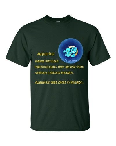 Aquarius T-Shirt (forest)