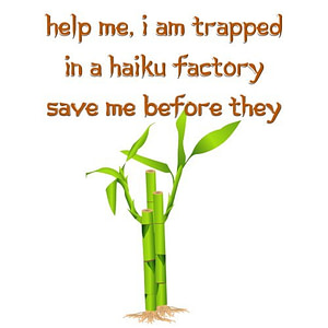 Trapped in a Haiku Factory