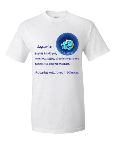 Aquarius T-Shirt (white)