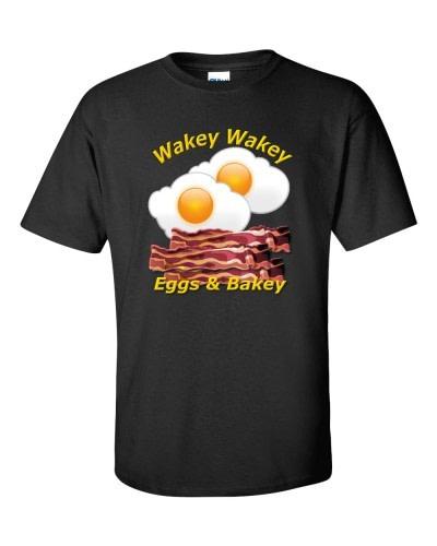 Wakey Wakey Eggs & Bakey (Black)