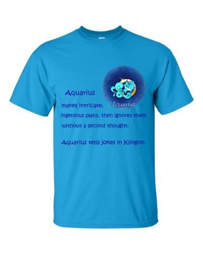 Aquarius T-Shirt (sapphire)