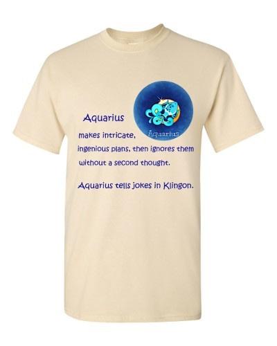 Aquarius T-Shirt (natural)