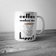 Coffee Makes Me Hoppy Mug