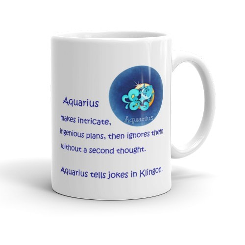 Aquarius Mug (11 oz)