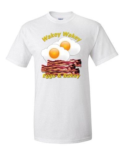 Wakey Wakey Eggs & Bakey (White)