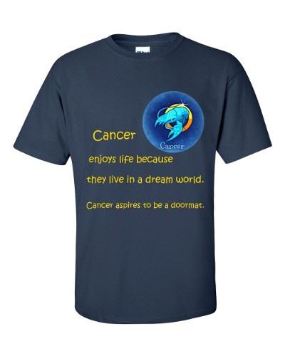 Cancer T-Shirt (navy)