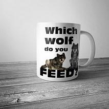 Which Wolf do you Feed Mug
