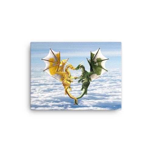 Dragon Lovers Canvas