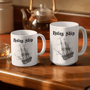 Holey Ship Mug