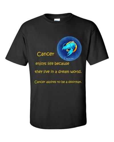 Cancer T-Shirt (black)