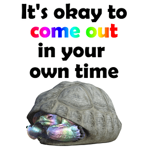 Come Out in Your Own Time