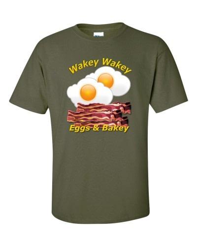 Wakey Wakey Eggs & Bakey (Military)