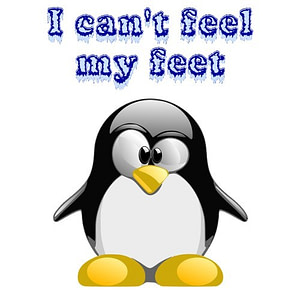 I Can't Feel My Feet