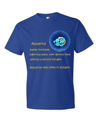Aquarius T-Shirt (royal)