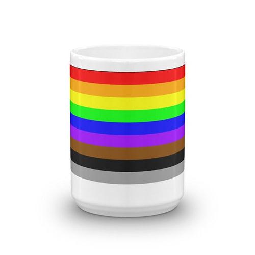 Diversity and Inclusion Rainbow Mug