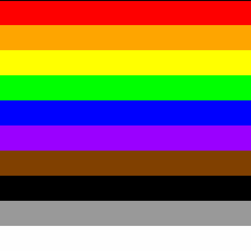 Diversity and Inclusion Rainbow