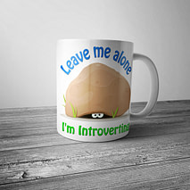 Leave Me Alone I'm Introverting Mug