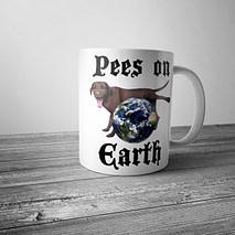 Pees on Earth Mug
