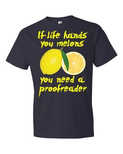 If Life Hands You Melons T-Shirt (navy)