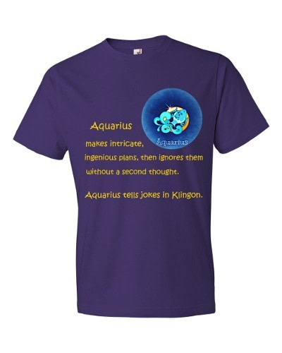 Aquarius T-Shirt (purple)
