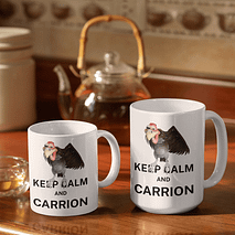 Keep Calm and Carrion Mug
