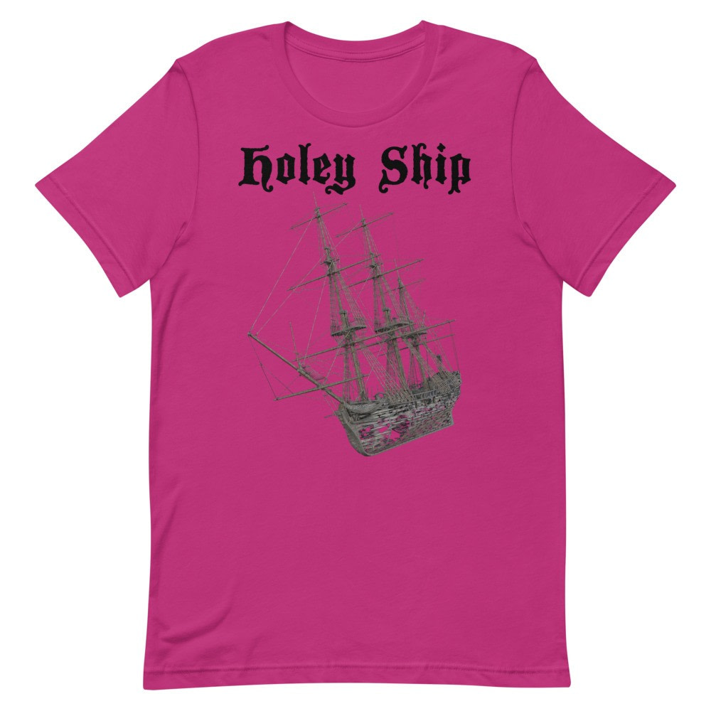 Holey Ship T-Shirt (Unisex)