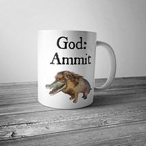 God Ammit Mug