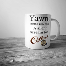 Yawn: A Silent Scream for Coffee