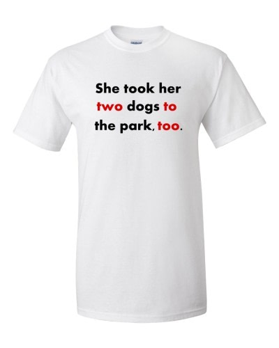 Twototoo t-shirt (white)