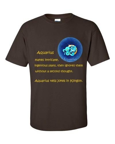 Aquarius T-Shirt (chocolate)